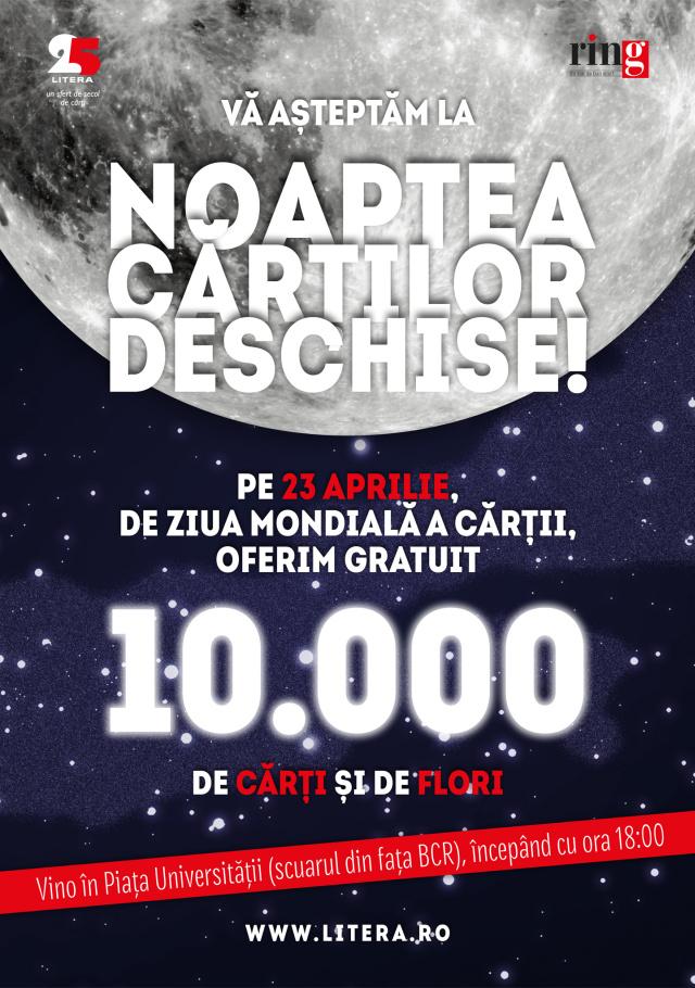 Noaptea Cartilor Deschise 2014