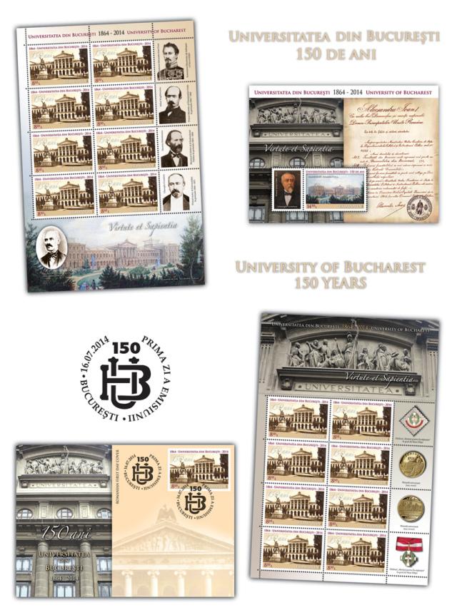 150 de ani, Universitatea din Bucuresti