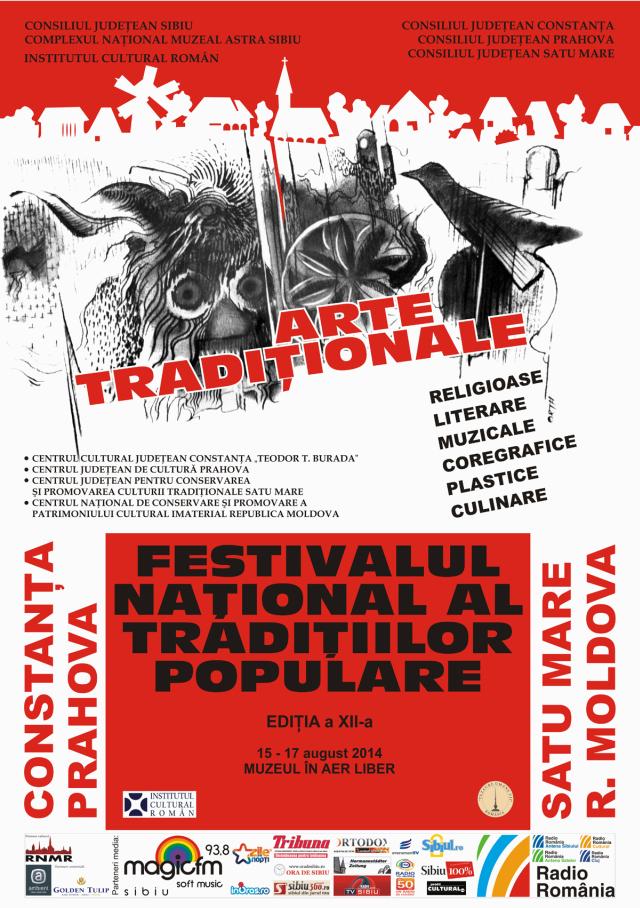 Festivalului Naţional al Tradiţiilor Populare 2014
