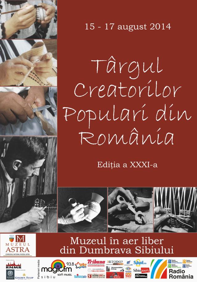 Târgul Creatorilor Populari din România 2014