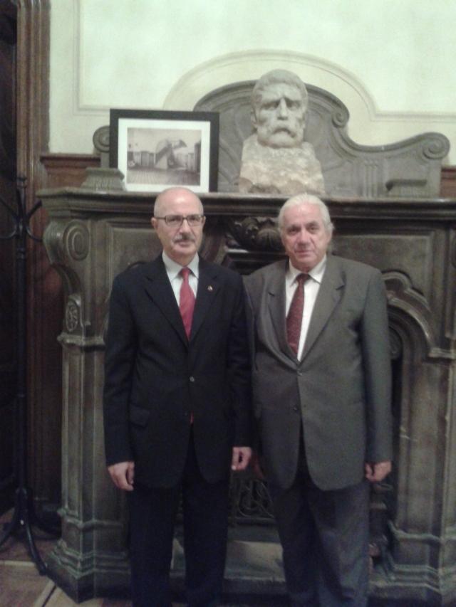 Ambasadorul Dumitru Badea şi V. Butulescu