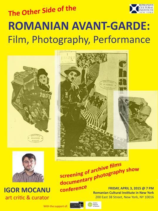 Cealaltă față a avangardei din România film, fotografie, performance