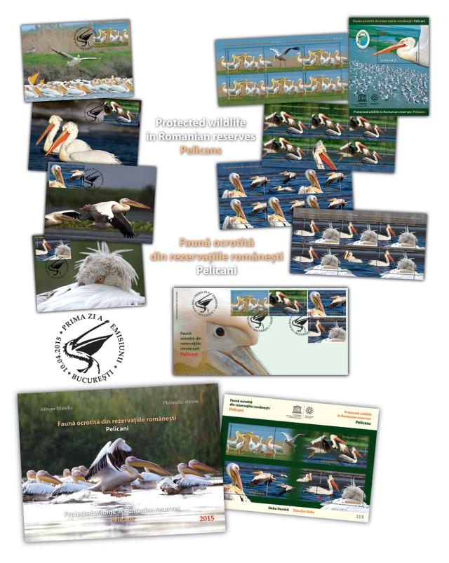 Fauna ocrotita din rezervatiile romanesti Pelicani