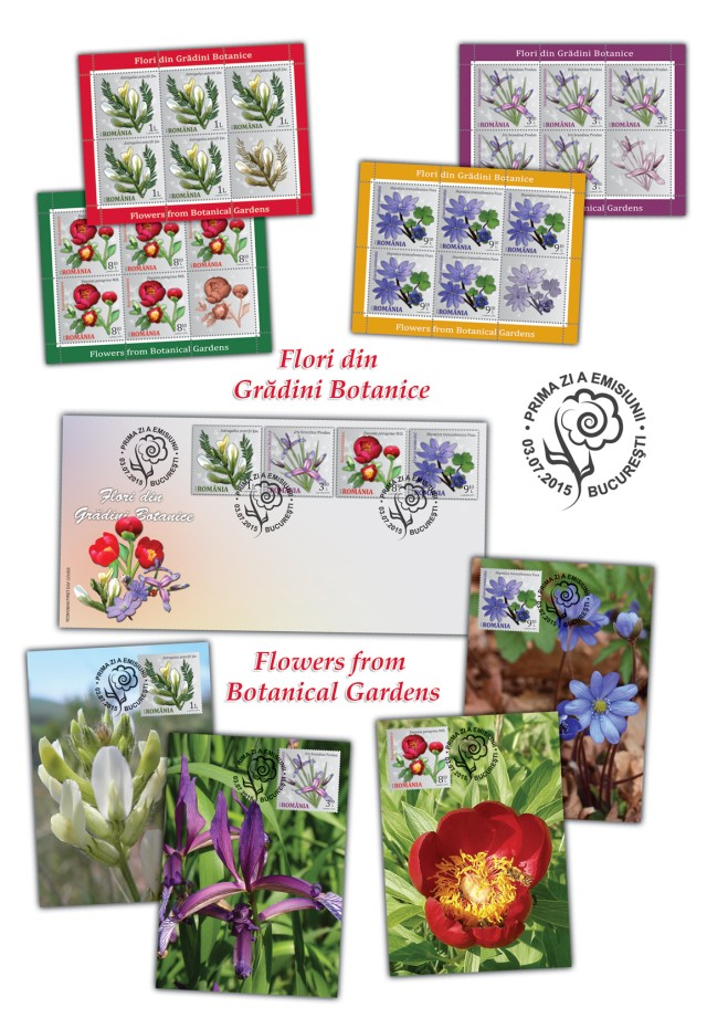 Flori din Gradini Botanice